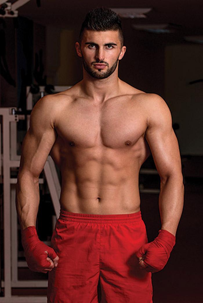 Dangerous Looking MMA Fighter