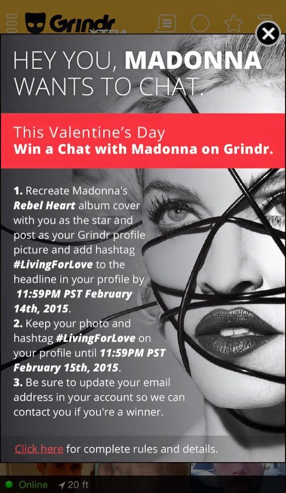 Madonna on Gridr